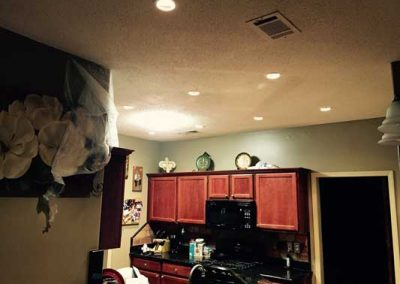 AFTER:  Updated LED lighting